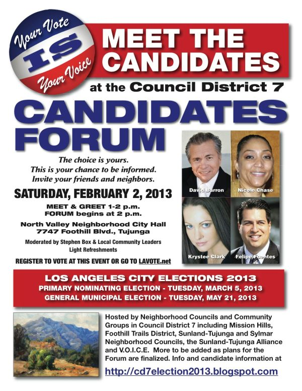 This CD7 Candidate Forum is Not To Be Missed!